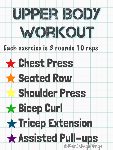 Fit Friday Upper Body Workout Home or Gym