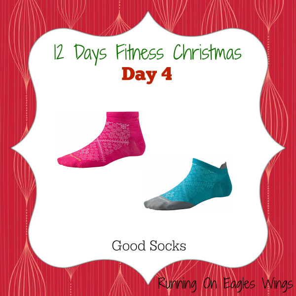 12 Days Fitness Christmas Day 4 - Socks - Smart wool running socks