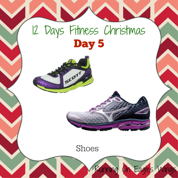 12 Days Fitness Christmas Day 5 - Shoes - Running shoes from Mizuno and Scott Running