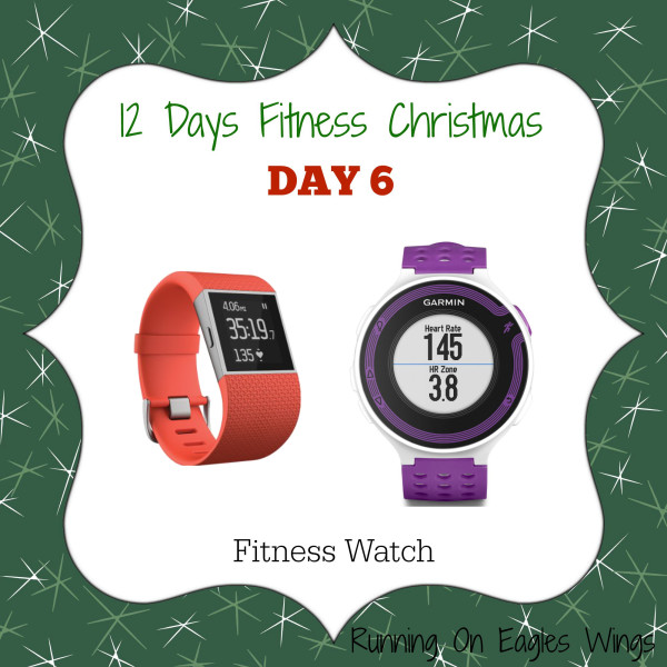 12 Days Fitness Christmas Day 6 - Fitness Watch - GPS, heart rate monitoring, FitBit surge, Garmin Forerunner 220