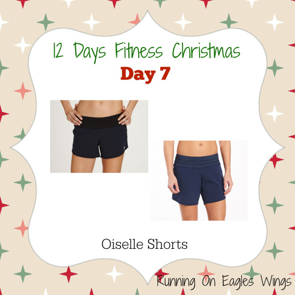 12 Days Fitness Christmas Day 7 - Running Shorts - Oiselle Roga short