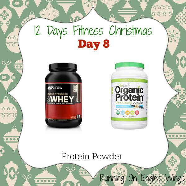 12 Days Fitness Christmas Day 8 - Protein Powder - Orgain Organic Protein or Optimum Nutrition Whey Protein