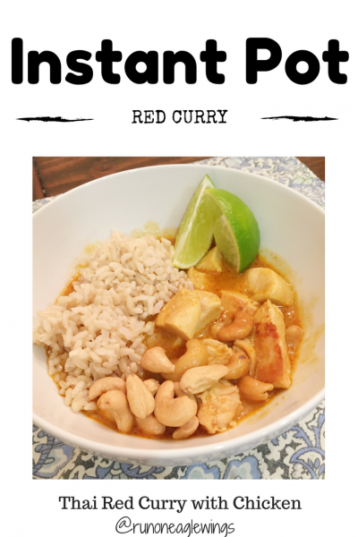 Easy Instant Pot Red Curry | Running On Eagles Wings